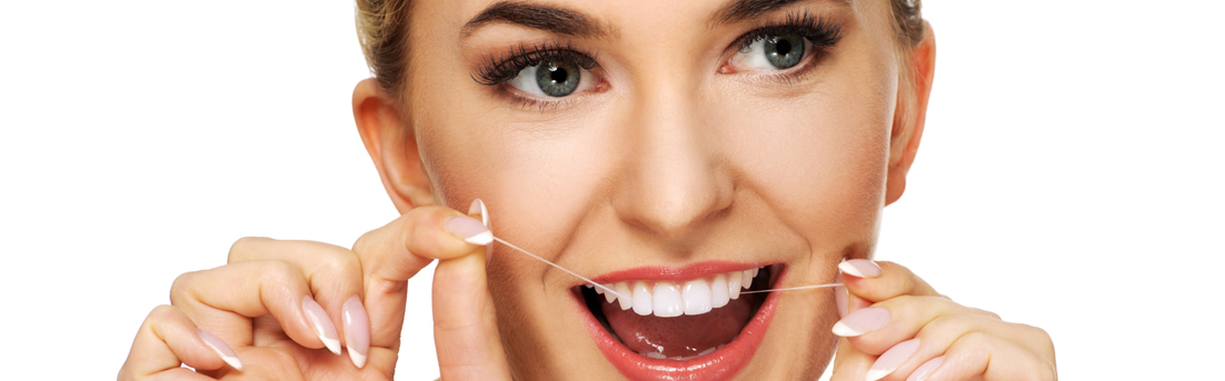 Limpieza con hilo dental
