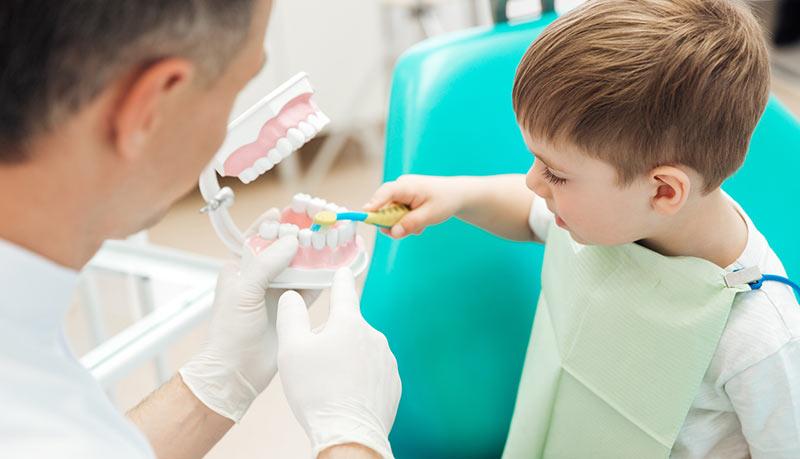 Hábitos dentales en los niños