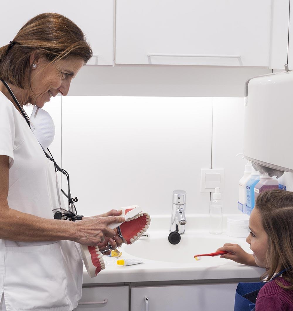 Cuidados dentales en los niños